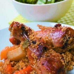 Linda's chicken couscous