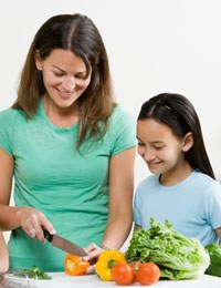 Tips for getting kids to eat fruit and vegetables