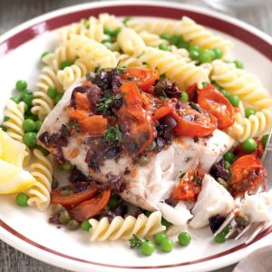 Amalfi baked fish
