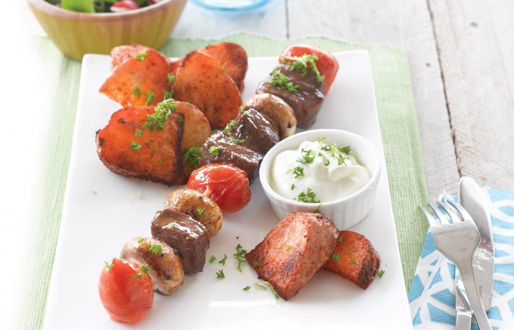 BBQ kebabs