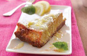 Banana and honey cheesecake