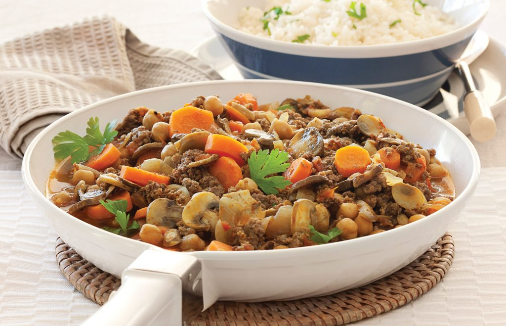 Beef and vege speedy curry