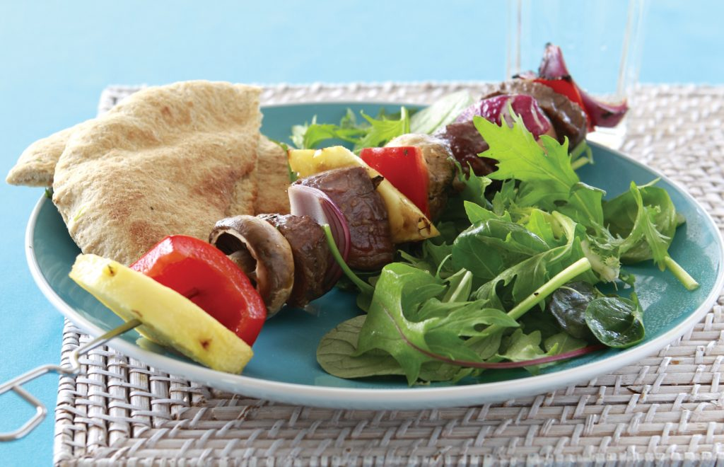 Ben's barbecue kebabs