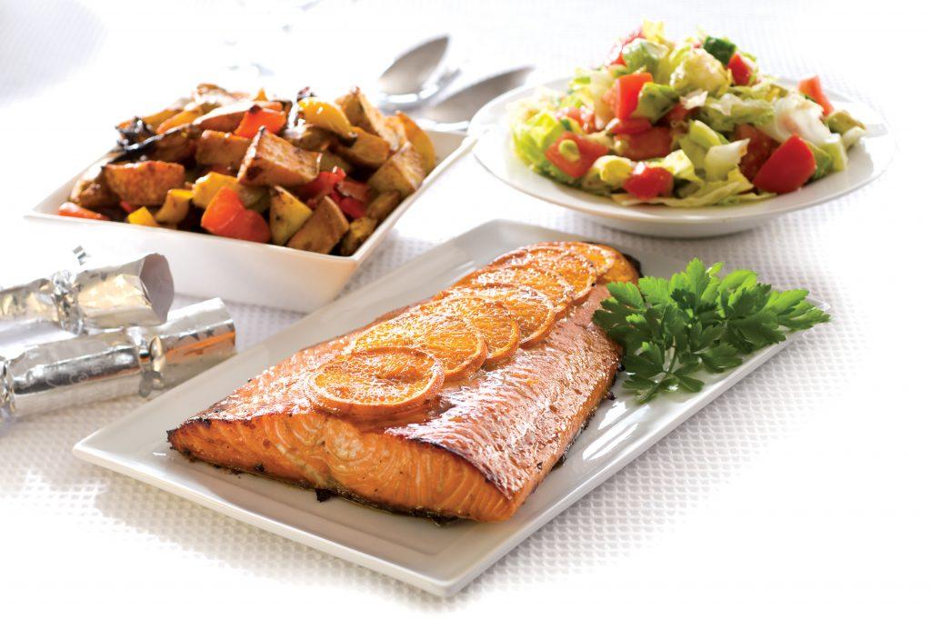 Celebration salmon