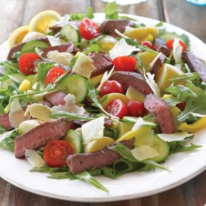 Chargrilled beef salad