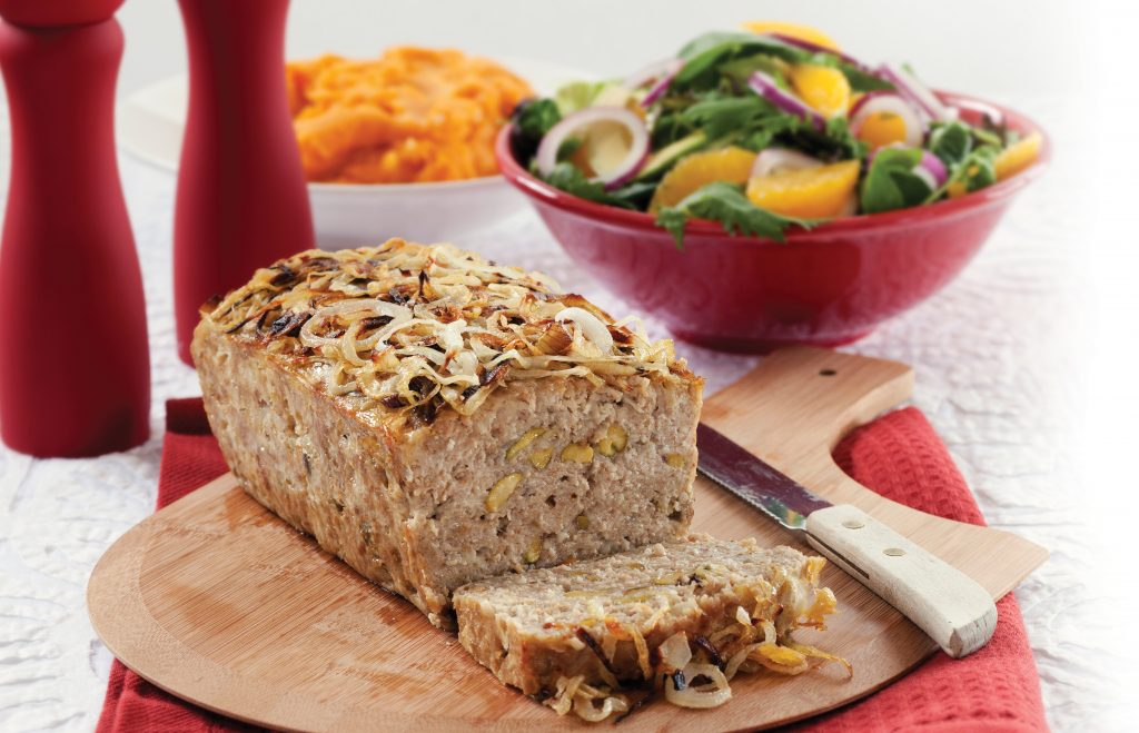 Chicken and pork loaf
