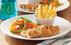 Chicken heart nuggets