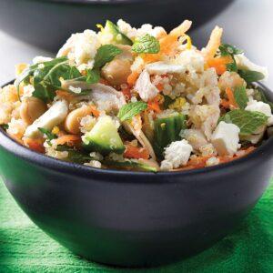 Chicken, lemon and quinoa salad