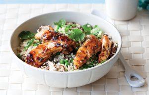 Chicken, mushroom and tarragon stir-fry