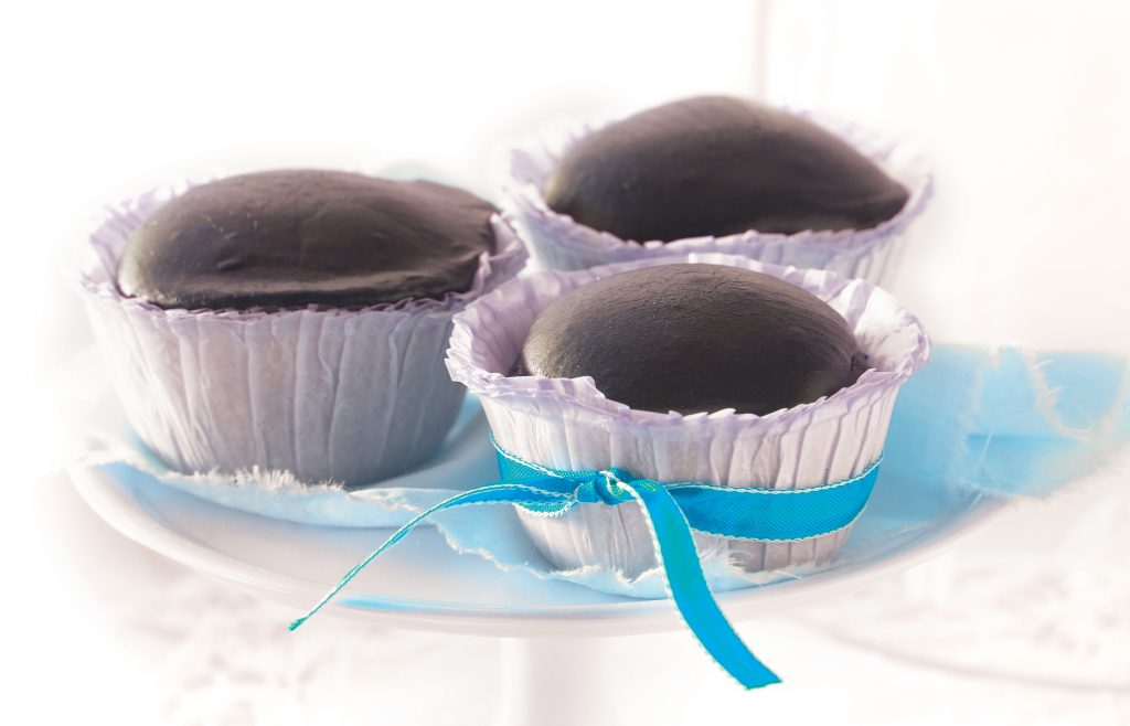 Chocolate Easter egg cupcakes