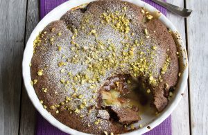 Chocolate Eve's pudding