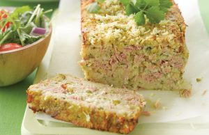 Courgette and tuna loaf