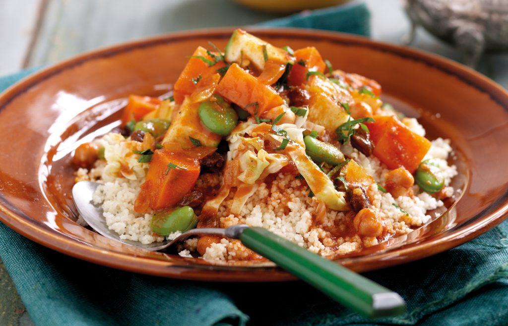 Couscous with seven vegetables