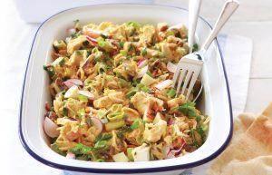 Curried chicken coleslaw