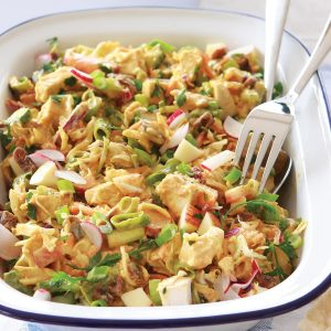 Curried chicken coleslaw