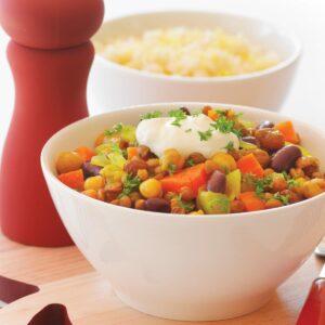 Curried vege stew