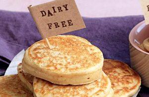 Dairy-free basic pikelets