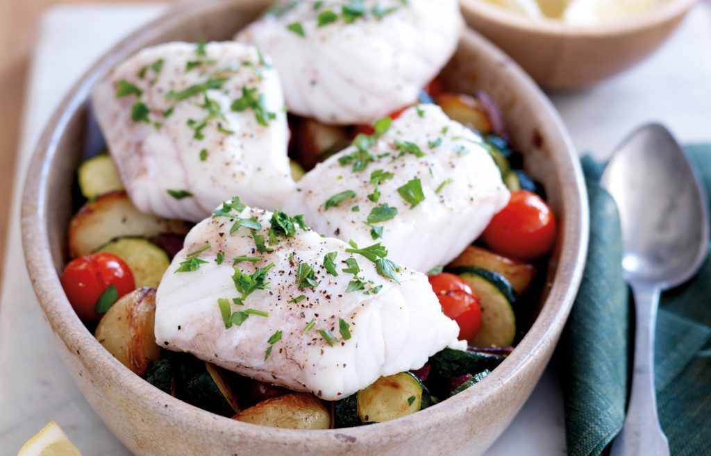 Easy fish bake