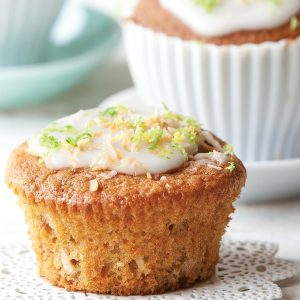 Feijoa Muffins with Coconut