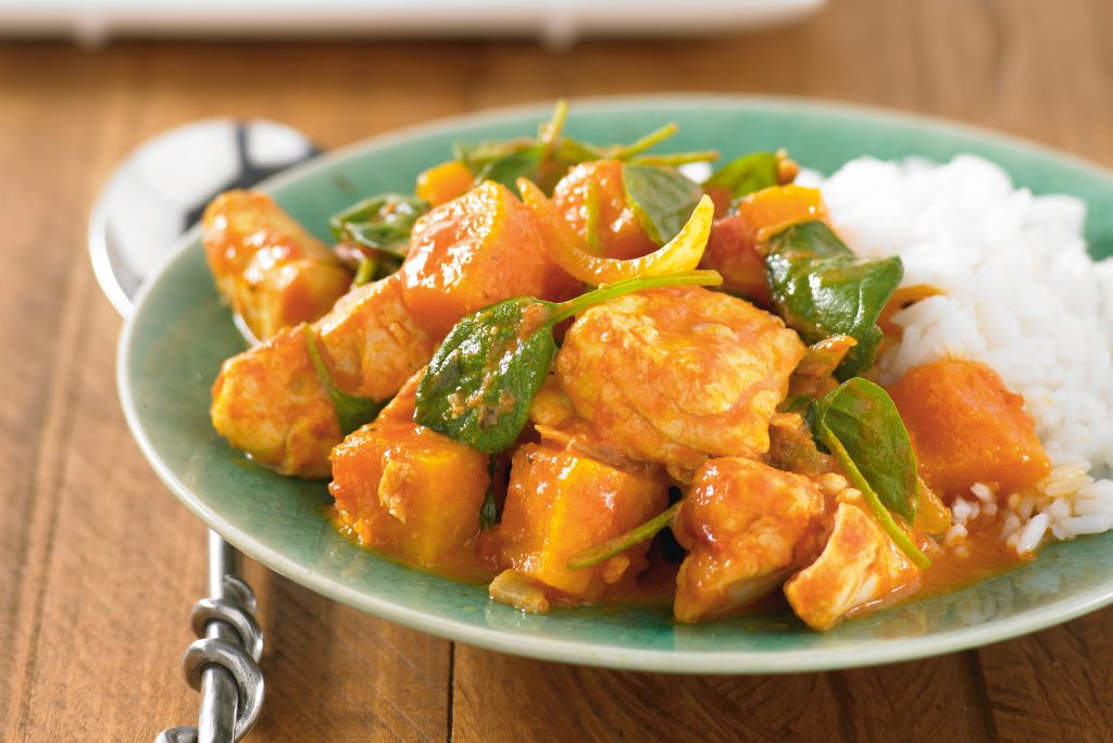 Fragrant fish curry