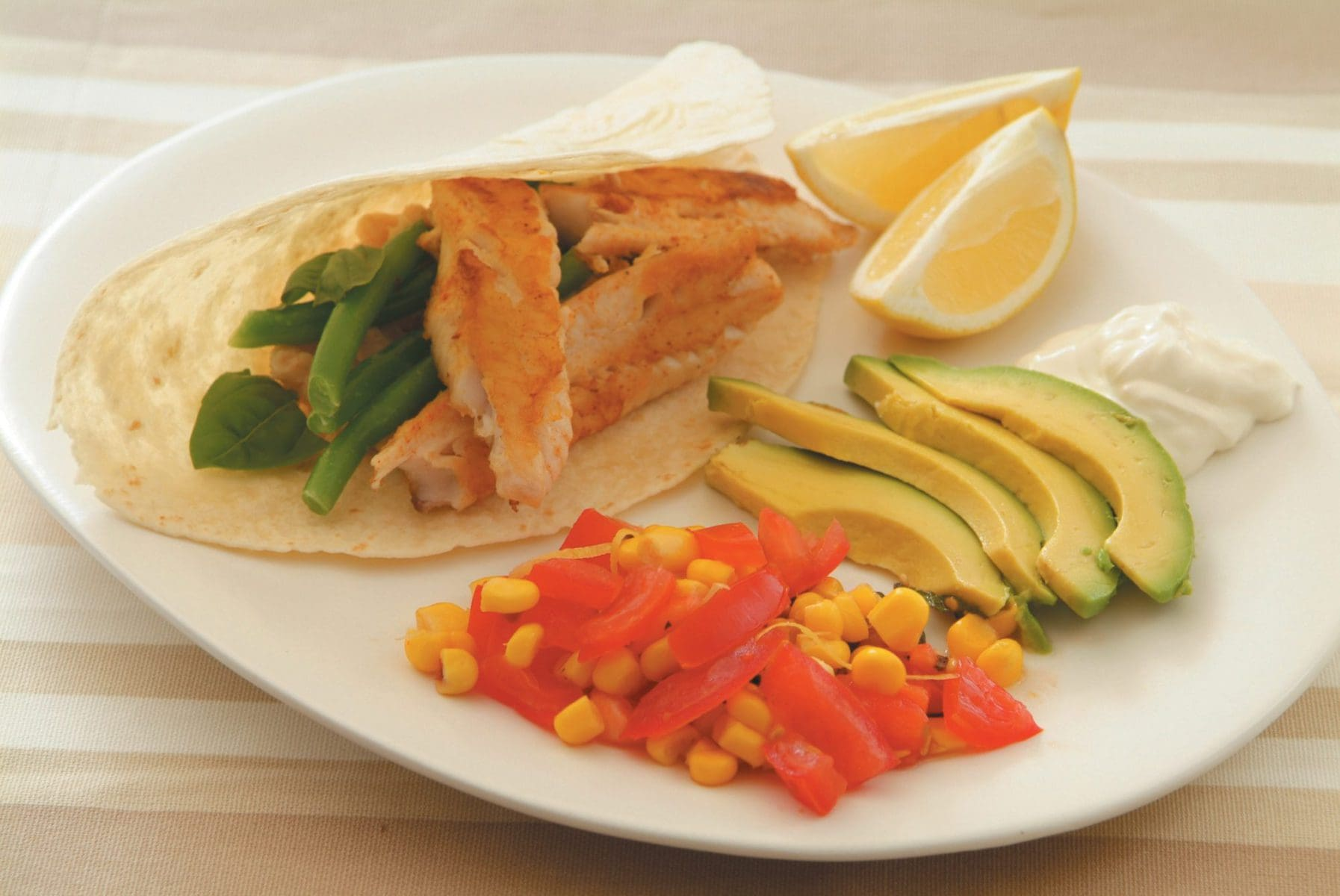 Fresh tuna wrap healthy food guide for Fresh tuna fish recipes