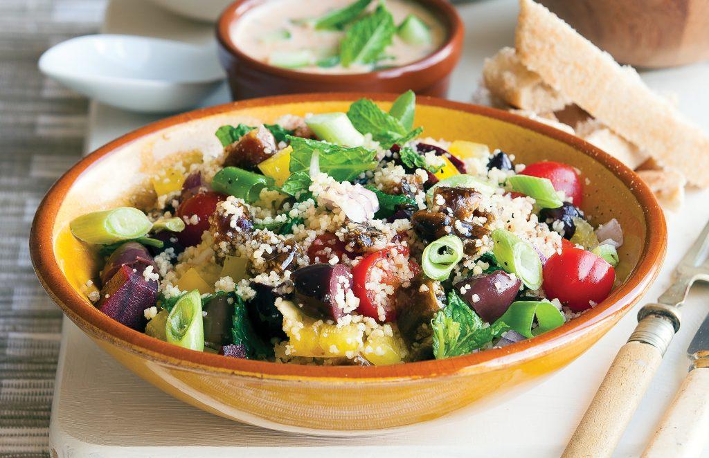 Greek-style supper meze