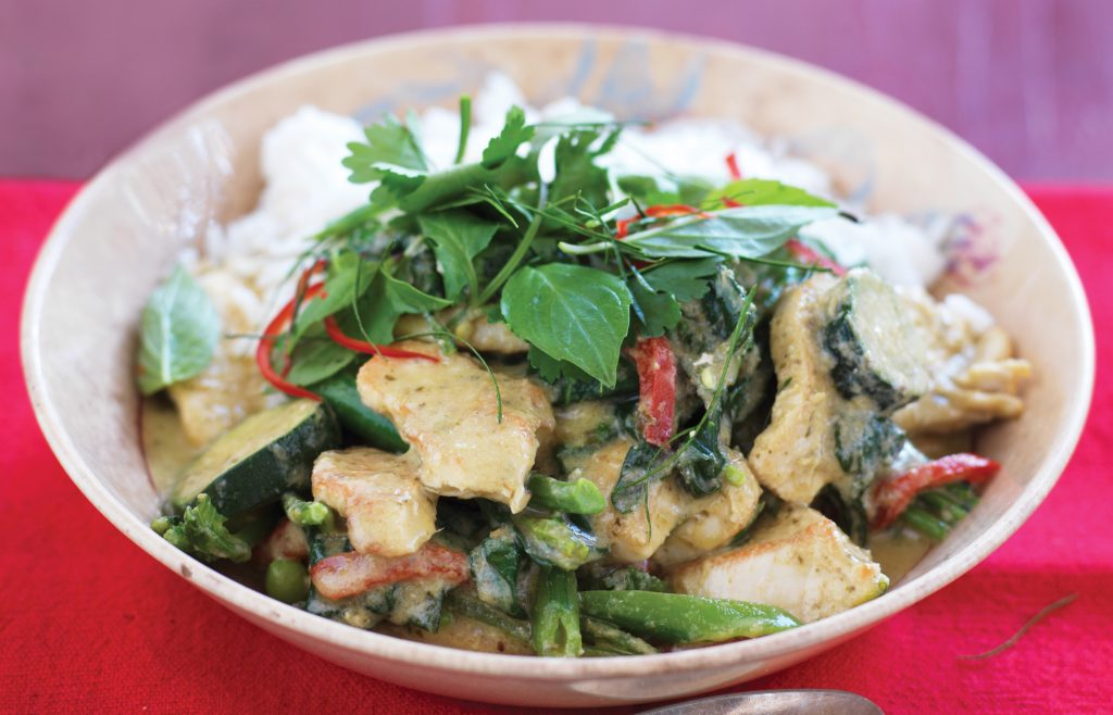 Green Chicken Curry Healthy Food Guide