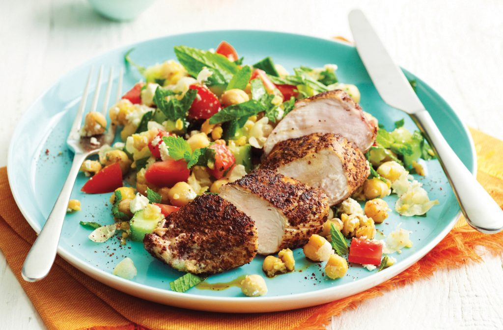Grilled Chicken With Fresh Summer Salad Healthy Food Guide