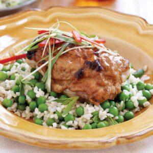 Harissa and yoghurt chicken