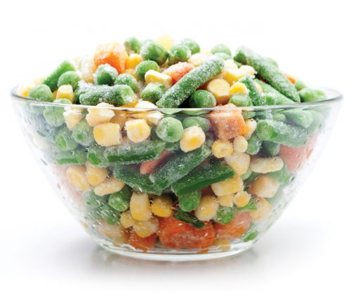 How to choose frozen vegetables