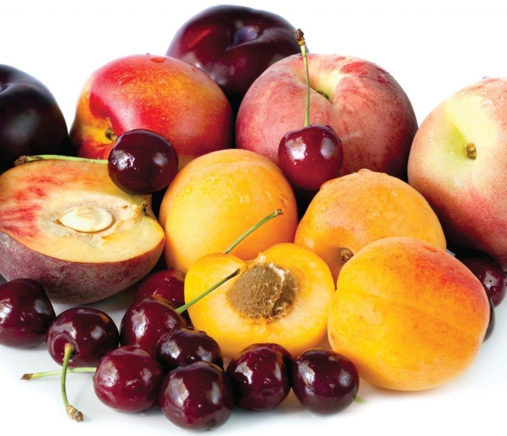 In Season Late Summer Stone Fruit Healthy Food Guide