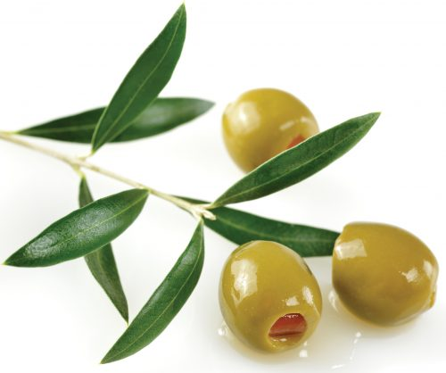 In season early winter: Olives