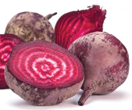 In season late autumn: Beetroot