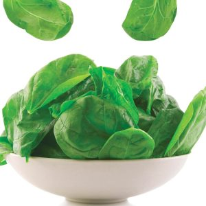 In season mid-spring: Spinach