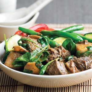 Japanese braised beef