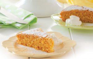 Lemon and lime polenta cake