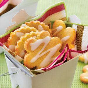 Lemon polenta cookies