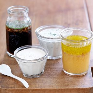 Makeover salad dressings