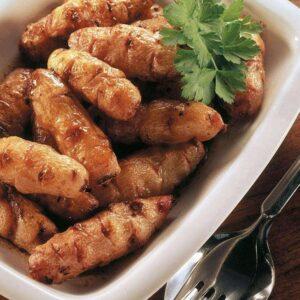 Honey-roasted yams