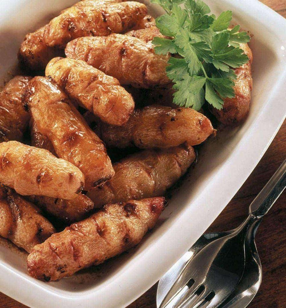 Manuka honey roasted yams