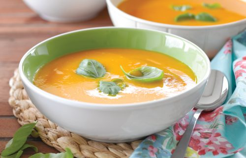 Marco's pumpkin and carrot soup