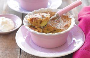 Microwave banana pudding