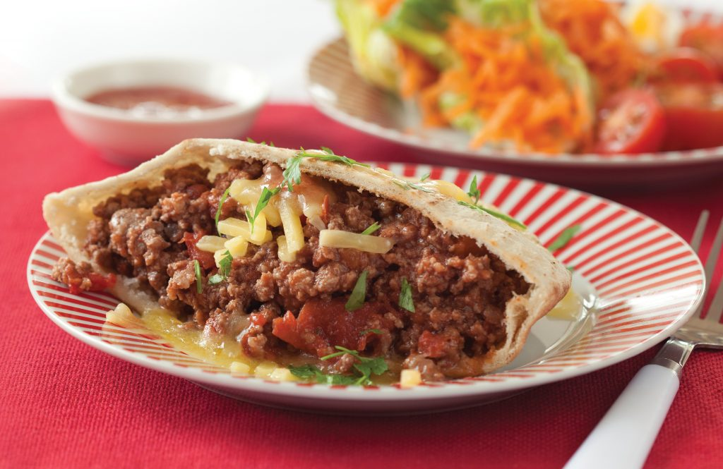 Mince pita pockets