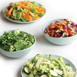 Mix and match noodle salads