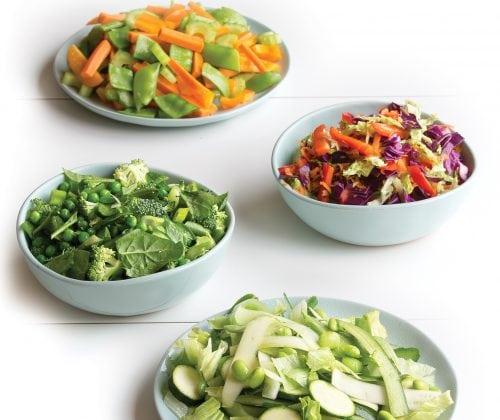 Mix and match noodle salads