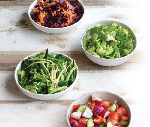 Mix and match salads