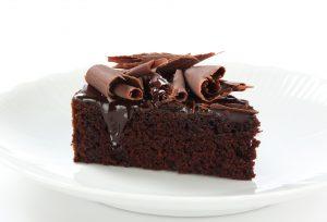 Moist chocolate cake (sponsored)