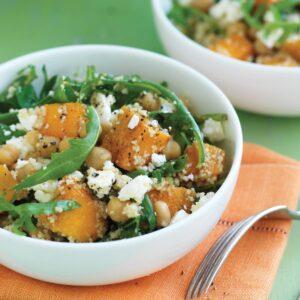 Moroccan vege couscous salad