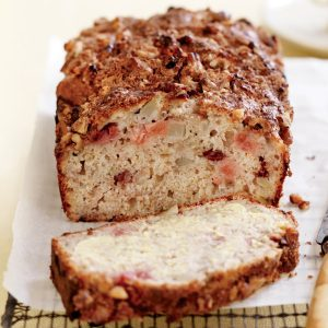 Pear and walnut bread