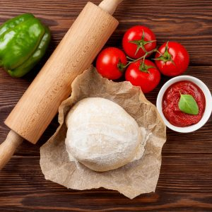 Pizza dough (for pizza base)
